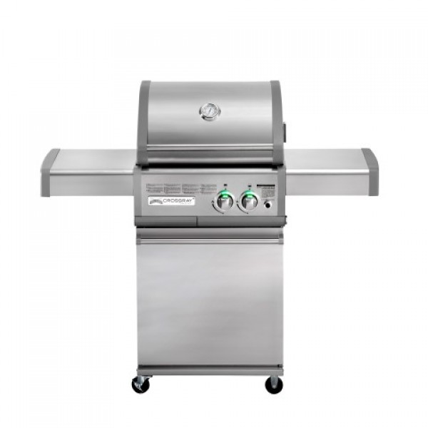 Crossray+ by Heatstrip Barbecue 2 brenner